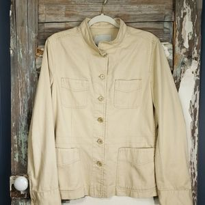 Henry Cotton's Womens Size 48 Tan/Khaki Jacket